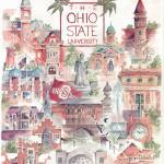 """Ohio State University"" by DoyleArts"