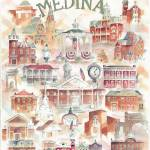 """Medina Ohio Collage"" by DoyleArts"