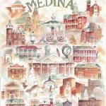 """Medina Ohio Collage"" by DoyleArts"