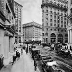 """Montgomery and Market St, c. 1909 San Francisco"" by worldwidearchive"