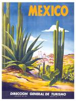 Mexico Travel Poster 3