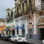 """Street in Ponce: The old and the new"" by BusyArtist"