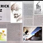 """Panorama magazine 2pg Spread on my artwork"" by abecrod"