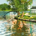 """""""Long light on the Rock River - Beloit, WI - 2010"""" by anthony"""