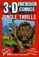 3-D Jungle Thrills Comic Book