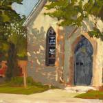"""Washington Street Church, Cedarburg, WI"" by anthony"