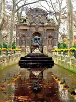 November Paris Fountain