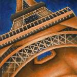 """eiffel tower"" by illustratorheidi"