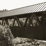 """Riverwalk Covered Bridge I"" by AlesiaKaye"