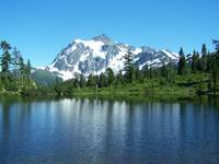 Mt Shuksan from Picture Lake
