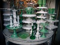 Green and White Things on a Table