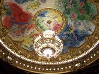 Marc Chagall Ceiling, Paris Opera House