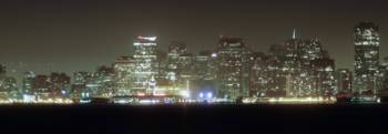 San Francisco night panorama - part2