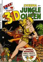 3-D Sheena Queen of the Jungle Comic Book