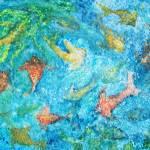 """Little Fishes Swim"" by ArtSamadhi"