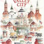 """Valley City Collage"" by DoyleArts"
