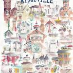 """North Ridgeville Ohio Collage"" by DoyleArts"