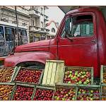 """Uruguay Truck with Produce"" by jbjoani2"