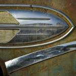 """50s Chrome Sheild"" by JeffBlackwell"