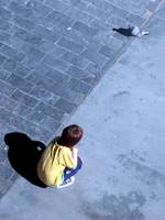 Kid and Pigeon I