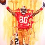 """Jerry Rice ""The Greatest"""" by Gbrooks"