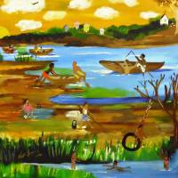 Bayou Paradise Art Prints & Posters by Nina Spencer