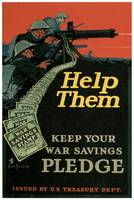 Keep Your War Savings Pledge - Help Them