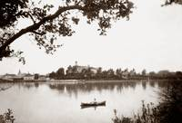 Canoeing on Lake Merritt c1880 by WorldWide Archive