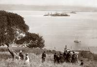 Goat Island (Yerba Buena Island) viewing to Lang W by WorldWide Archive