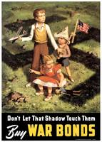 Don't Let That Shadow Touch Them - Buy War Bonds