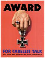 Award For Careless Talk