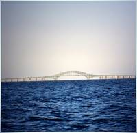Robert Moses Bridge on Long Island