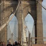 """Brooklyn Bridge Walkway"" by KarlaRickerArt"