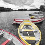 """Rowing Boats at Thorpe Ness"" by oleymoley"