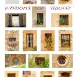 """Windows of Tuscany (Vertical)"" by kimmanleyort"
