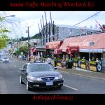"""Sunday Traffic Main Drag White Rock BC"" by Attila_Photos"