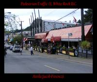 Pedestrian Traffic 01 White Rock BC