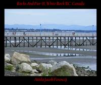 Rocks And Pier 01 White Rock BC Canada