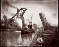 Chicago 12th St. Bascuele Bridge c1900 by WorldWide Archive