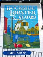 Dockside Lobster and Seafood sign