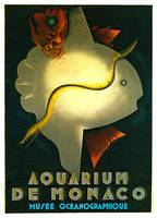 Aquarium De Monaco Vintage Sea Life