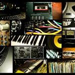"""RECORDING STUDIO COLLAGE"" by photographybyryankelly"
