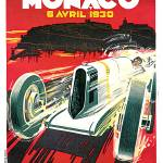 """Monaco Grand Prix Vintage 1930 Auto Race Poster"" by Johnny-Bismark"