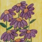 """""""Coneflowers in Purple"""" by jmeraz"""