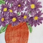 """Purple Daisies"" by jmeraz"