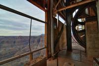 HDR Grand Canyon Cable Car Ruins