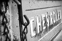 B&W: Rusted Old Chevy