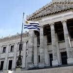 """Uruguay National Flag and the Palacio Legislativo"" by Alvimann"