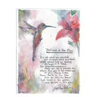Hummingbird Poem