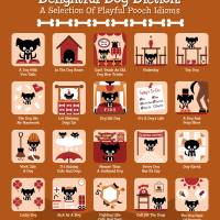 Delightful Dog Diction! Art Prints & Posters by Sion Lee